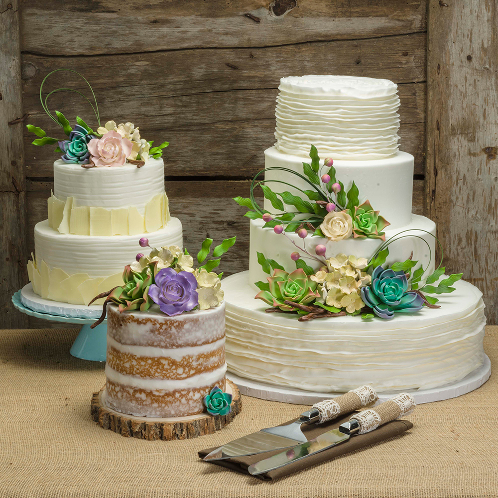 Natural Gardens Wedding Cakes
