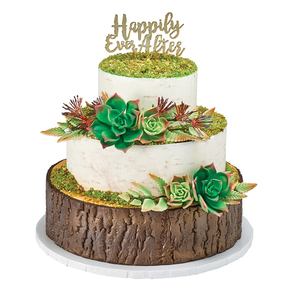 Nature's Kiss Cake Design