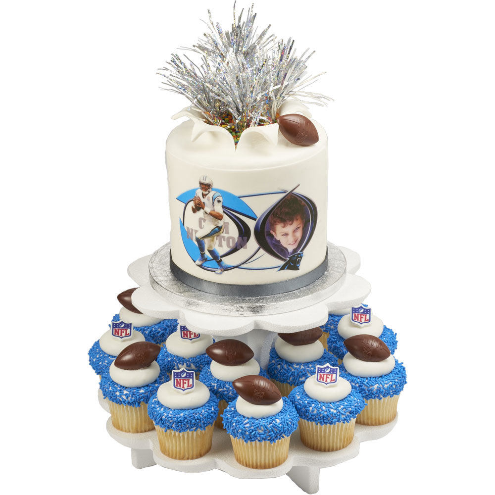 NFL Explosions PhotoCake® Cake and Cupcakes
