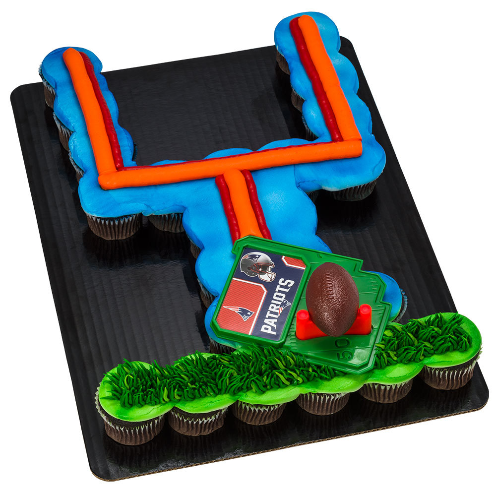 NFL Football & Tee DecoSet® Cupcake Cake