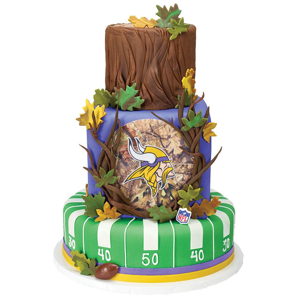 NFL® Mossy Oak® Stacked Cake
