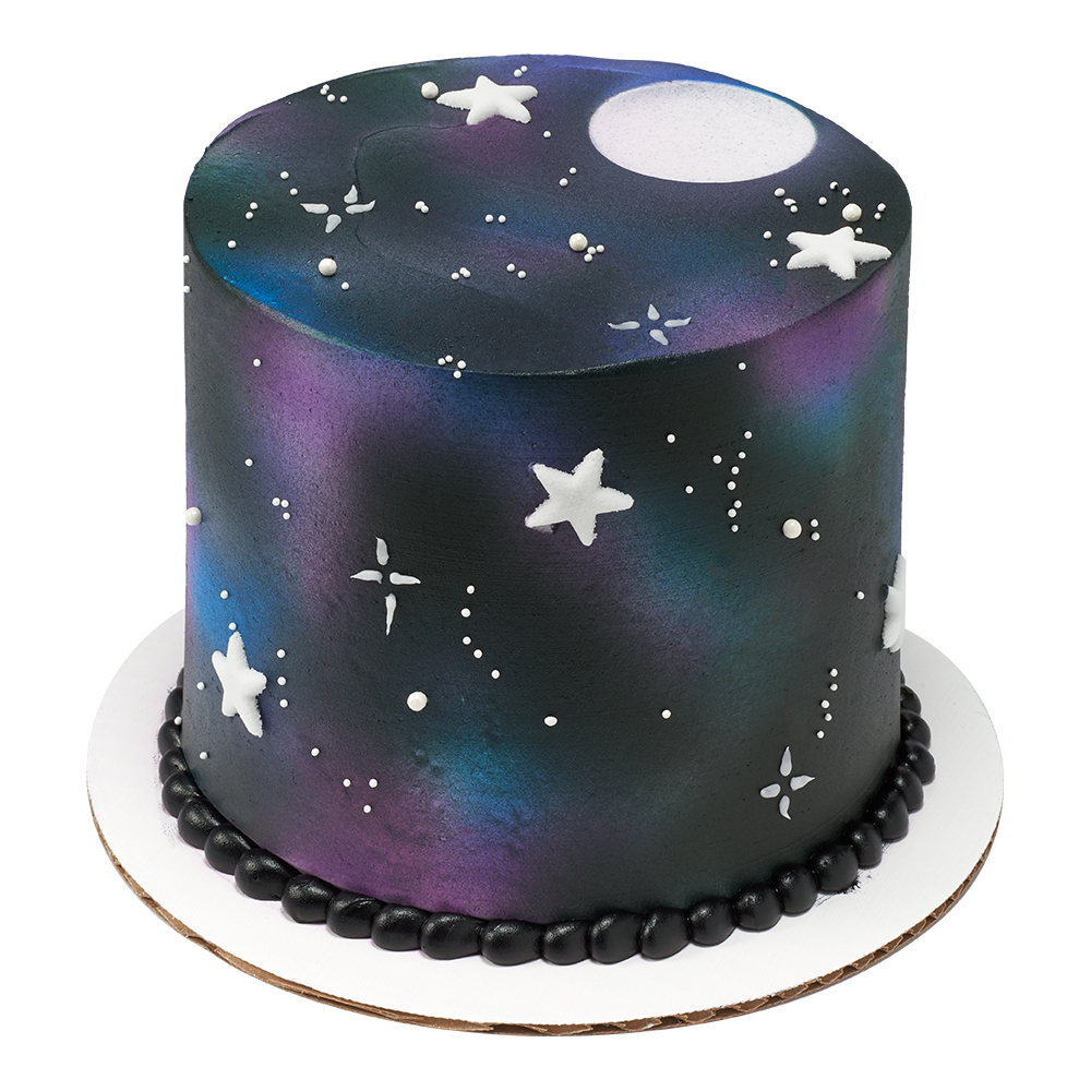Night Sky Cake Design
