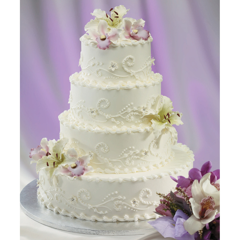 Only Love Wedding Cake
