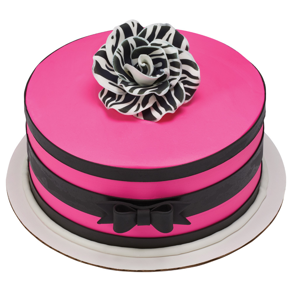 Passion for Pink Round Cake Design