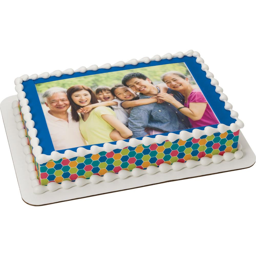 PhotoCake® Family Together Time Cake Design