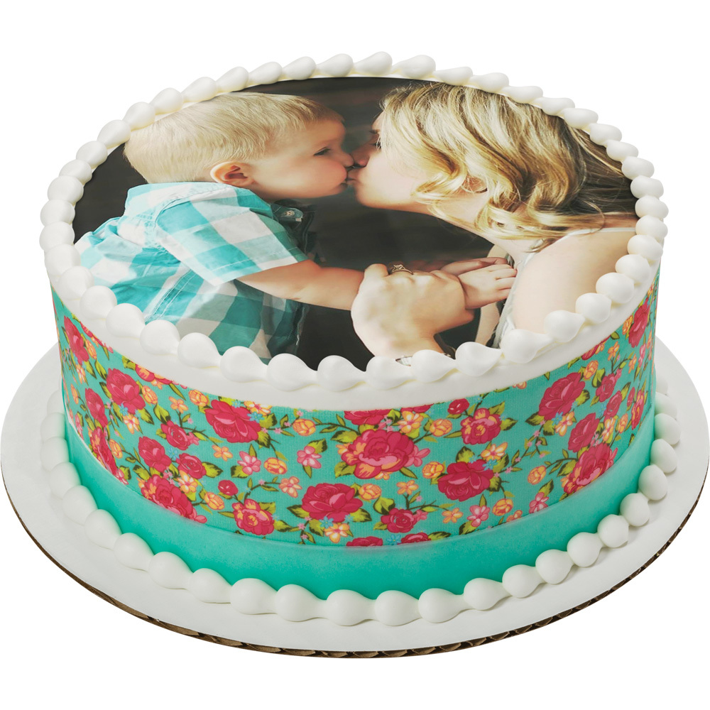 PhotoCake® Mother's Day Round Cake
