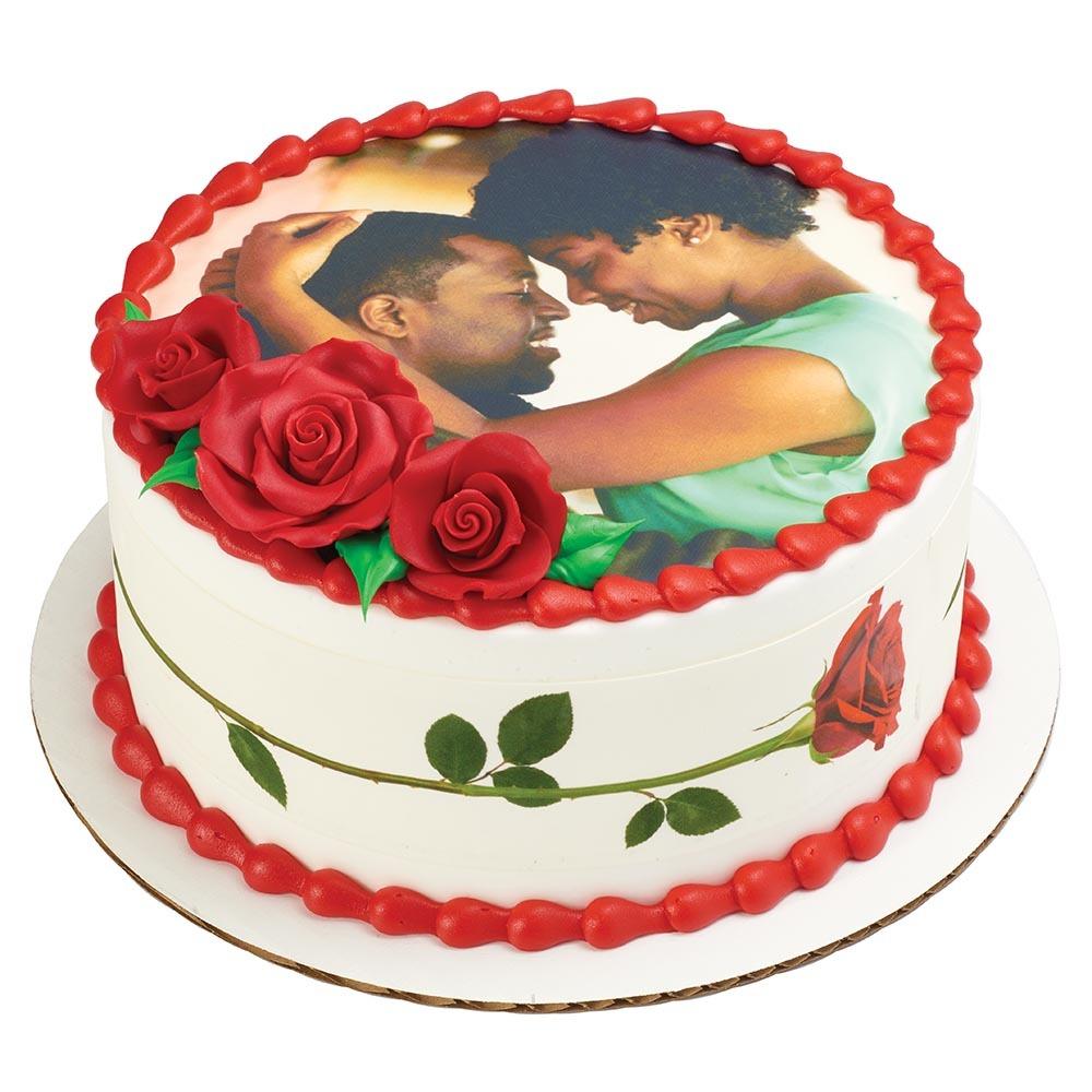 Photocake Roses Cake Design Decopac