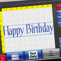PhotoCake® IV: Text Only Cake Topping