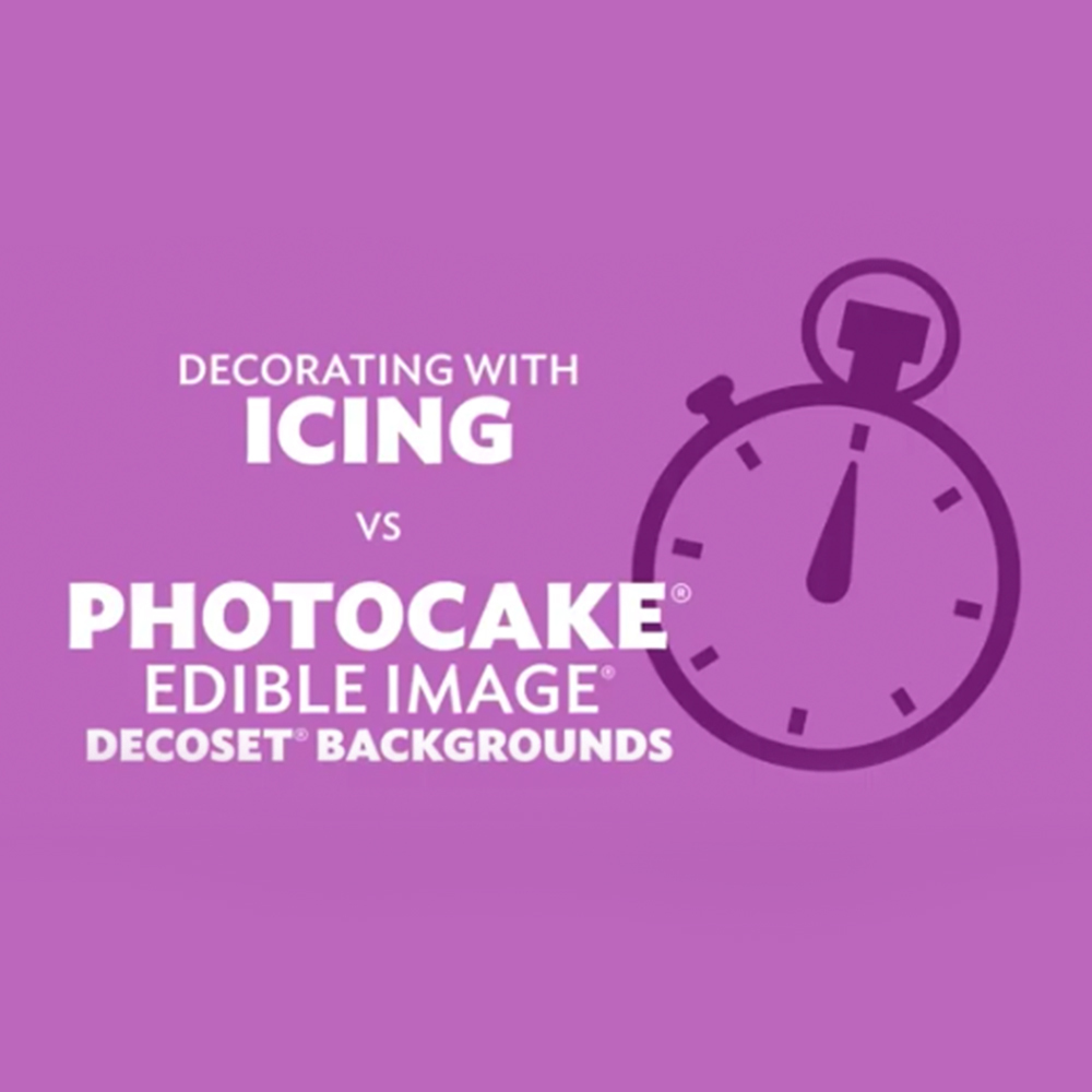 PhotoCake Time Study – Background vs. Iced Design