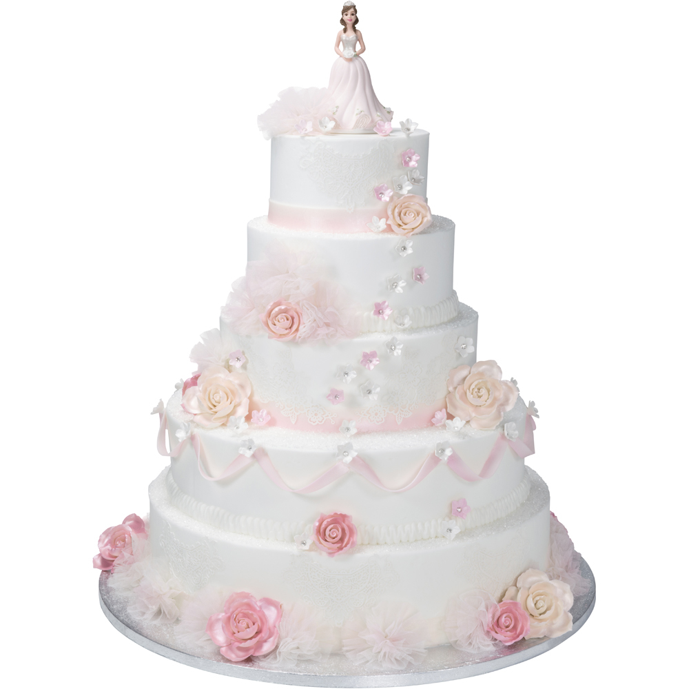 Quinceanera Traditional Stacked Cake | DecoPac