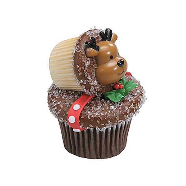 Reindeer Ring Cupcakes