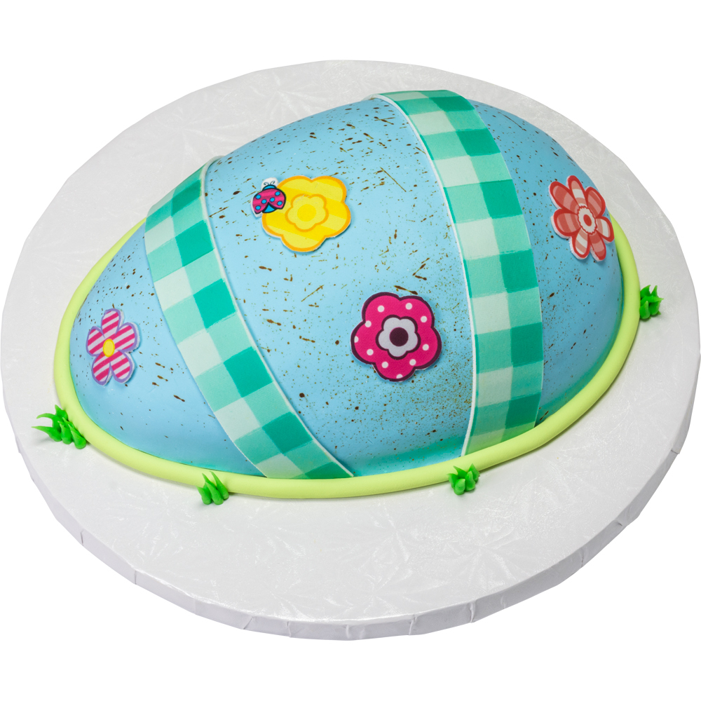 Robin's Egg Easter Cake Design