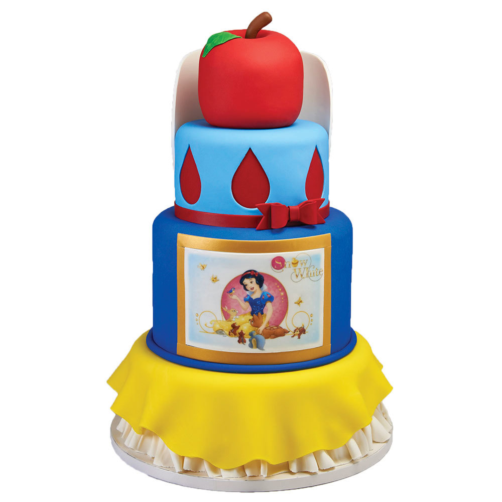 Snow White Stacked Cake Design