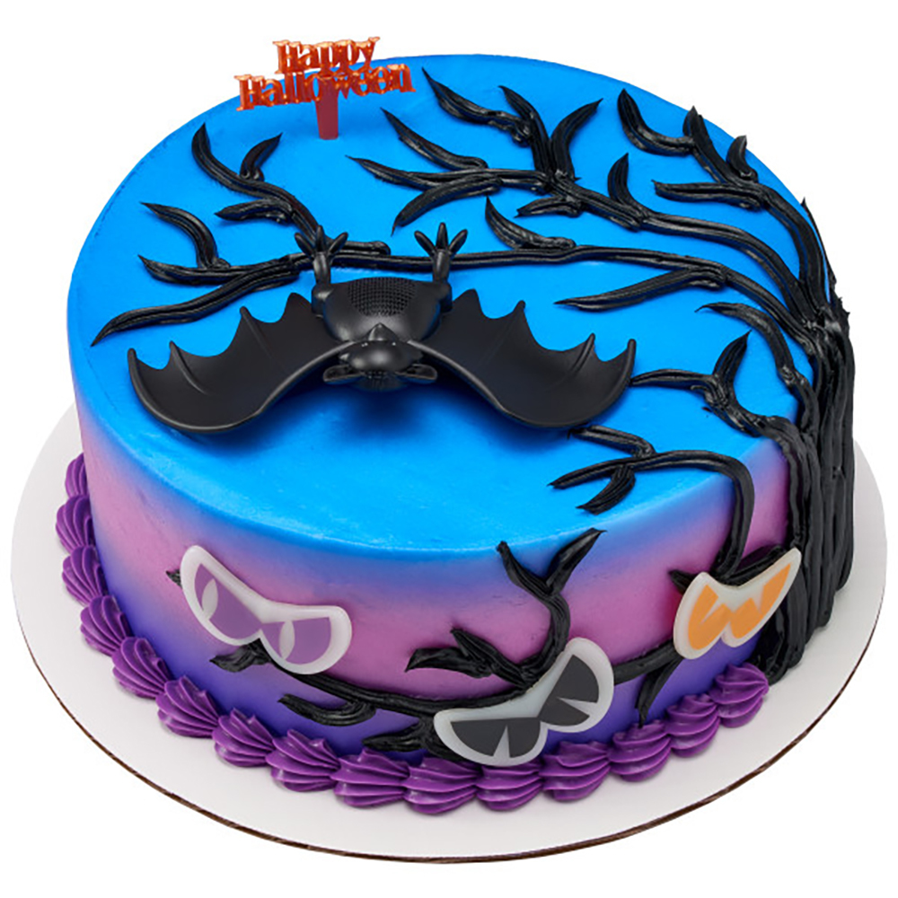 Spooky Forest Cake Design