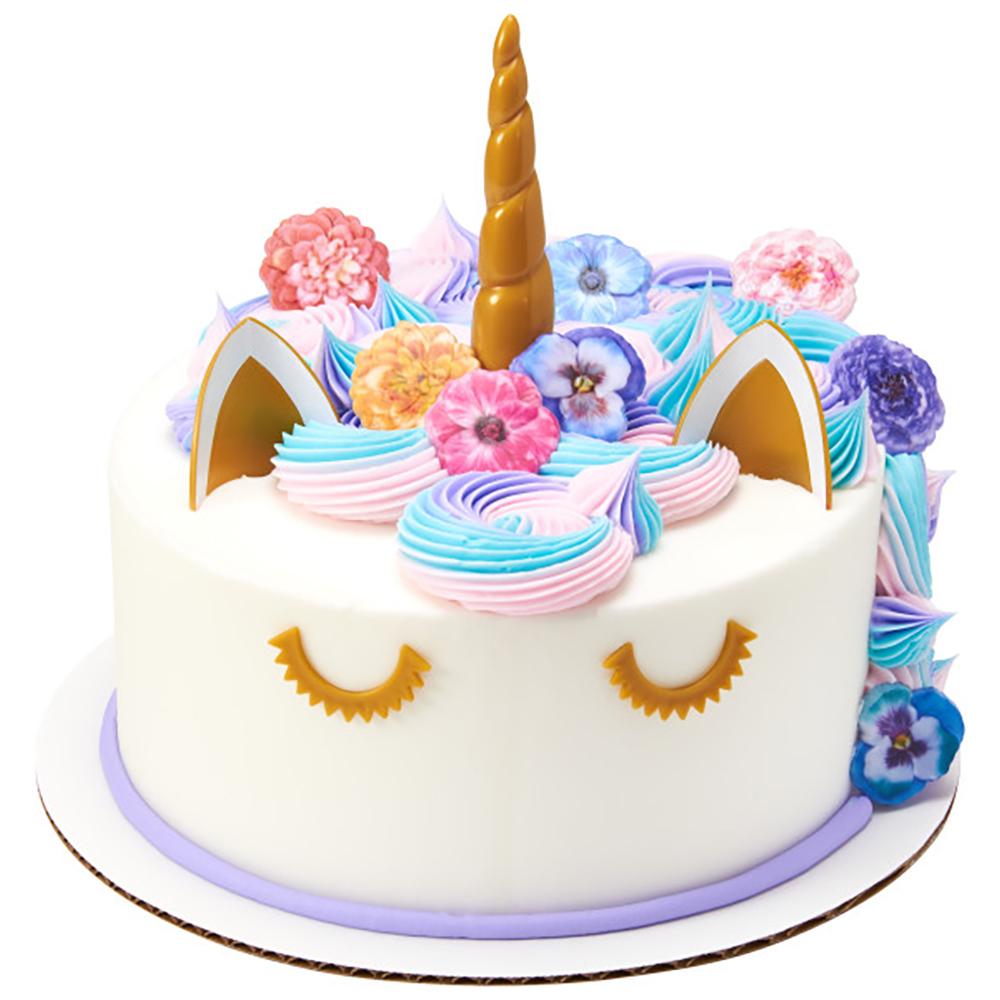 Spring Unicorn Cake Design