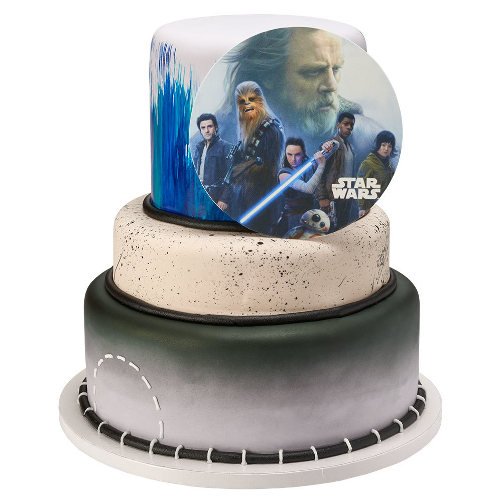 PhotoCake® Star Wars Stacked Cake Design