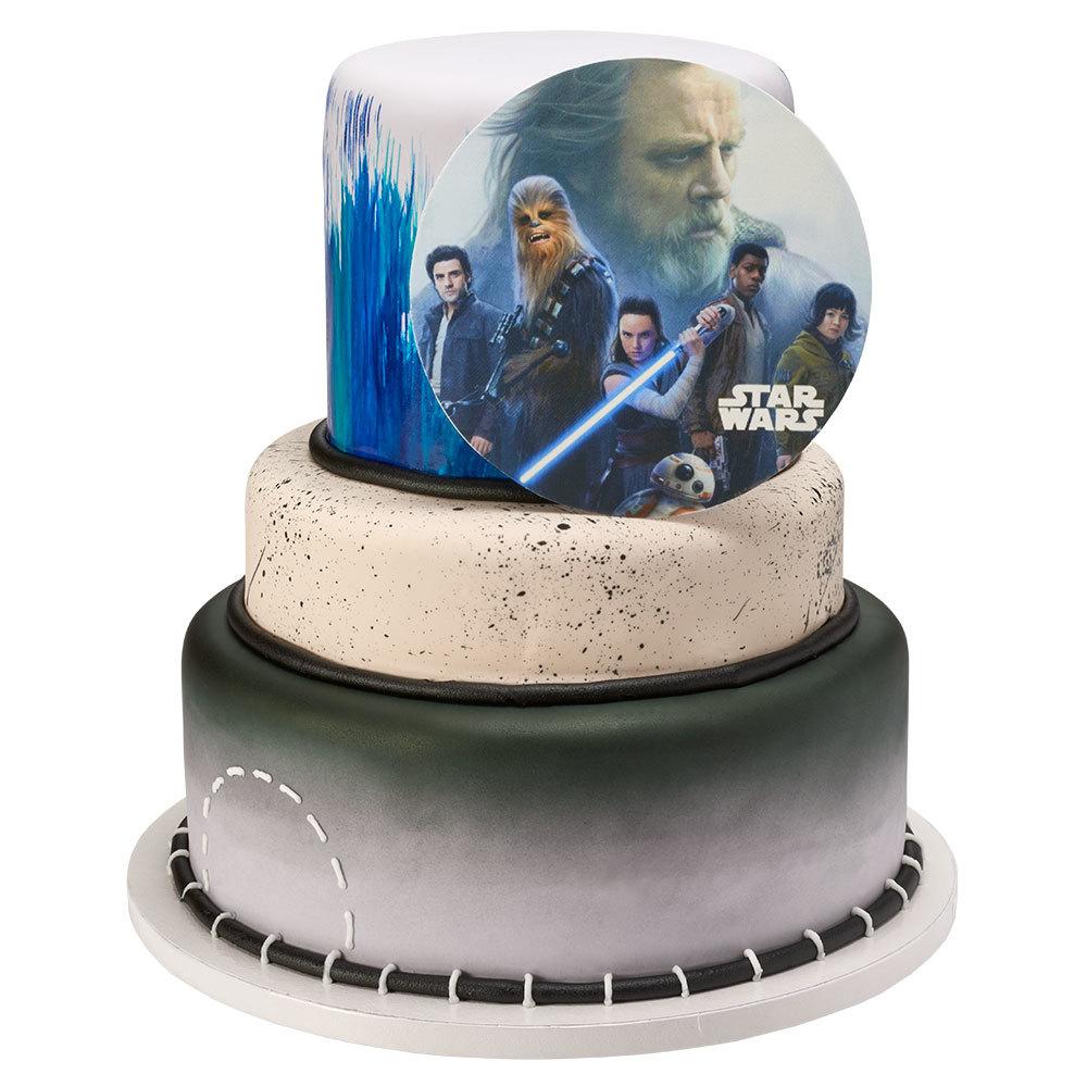 PhotoCake edible image Star Wars Stacked Cake Design