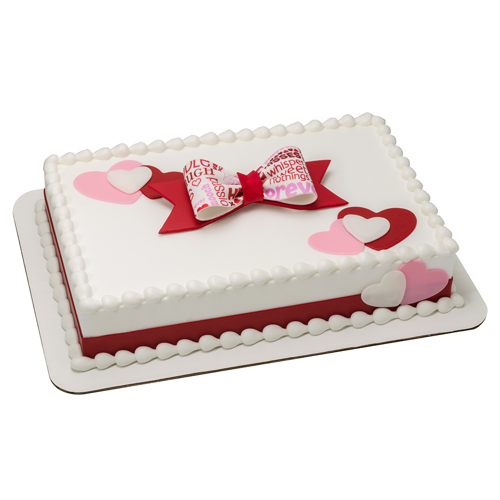 Sweetheart Bow Cake