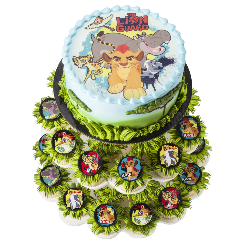The Lion Guard Cake And Cupcake Stand Decopac