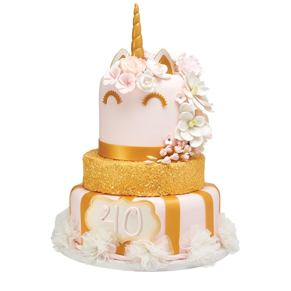 The Mane Attraction Unicorn Cake