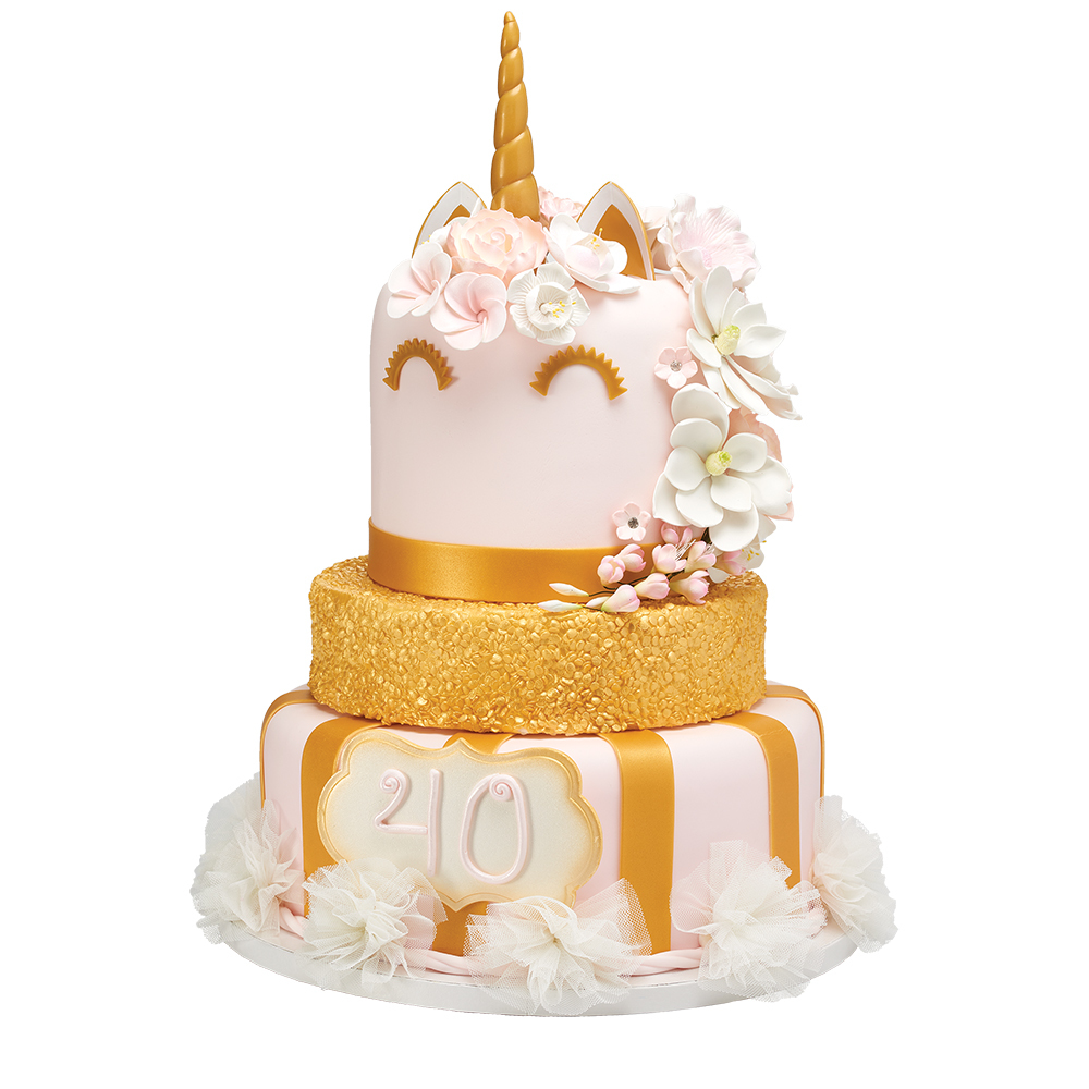 The Mane Attraction Unicorn Cake Design