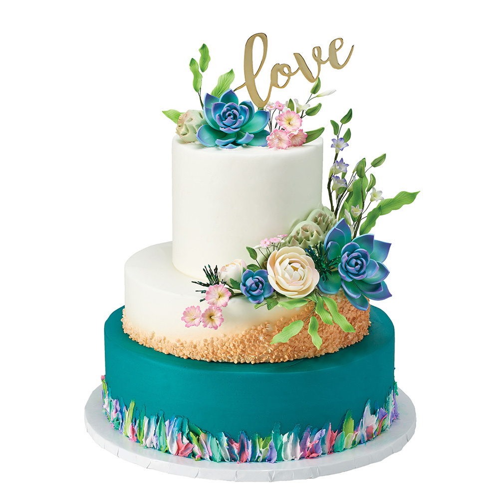 Unique Love Cake Design