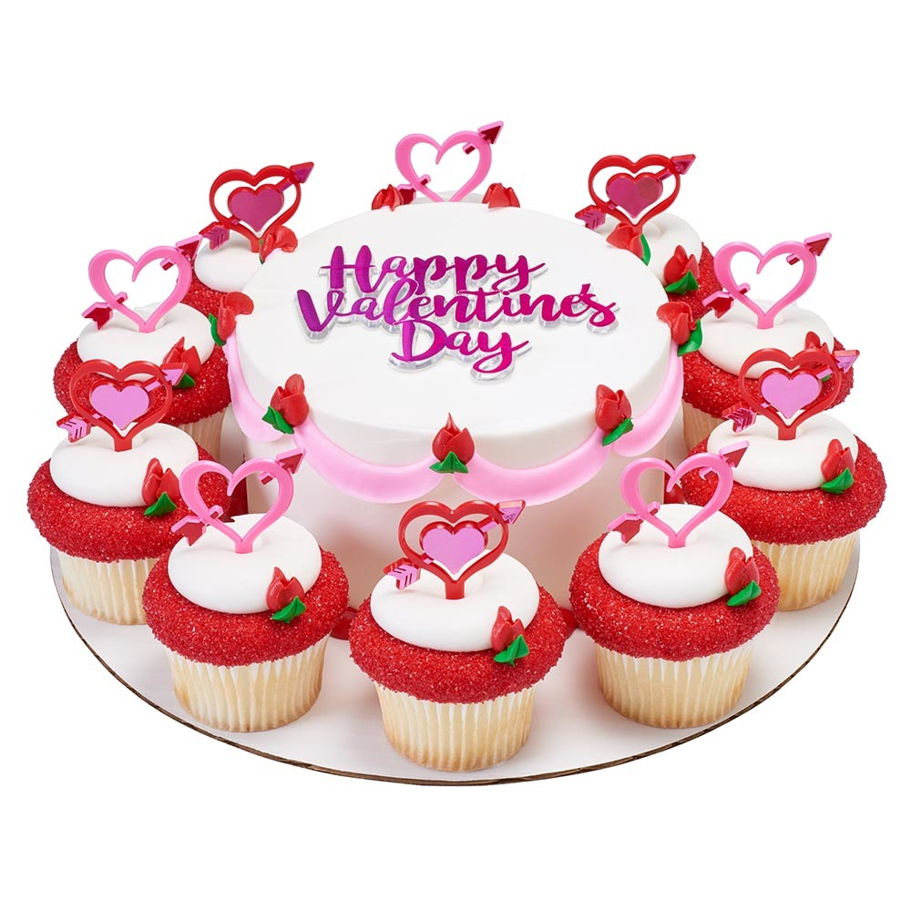 Valentines Day Cupcake Design