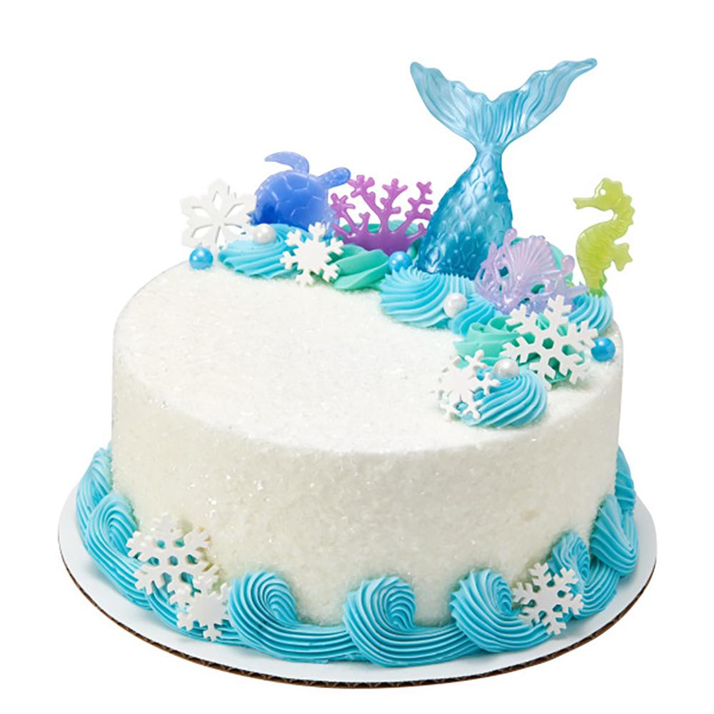 Winter Mermaid Cake Design
