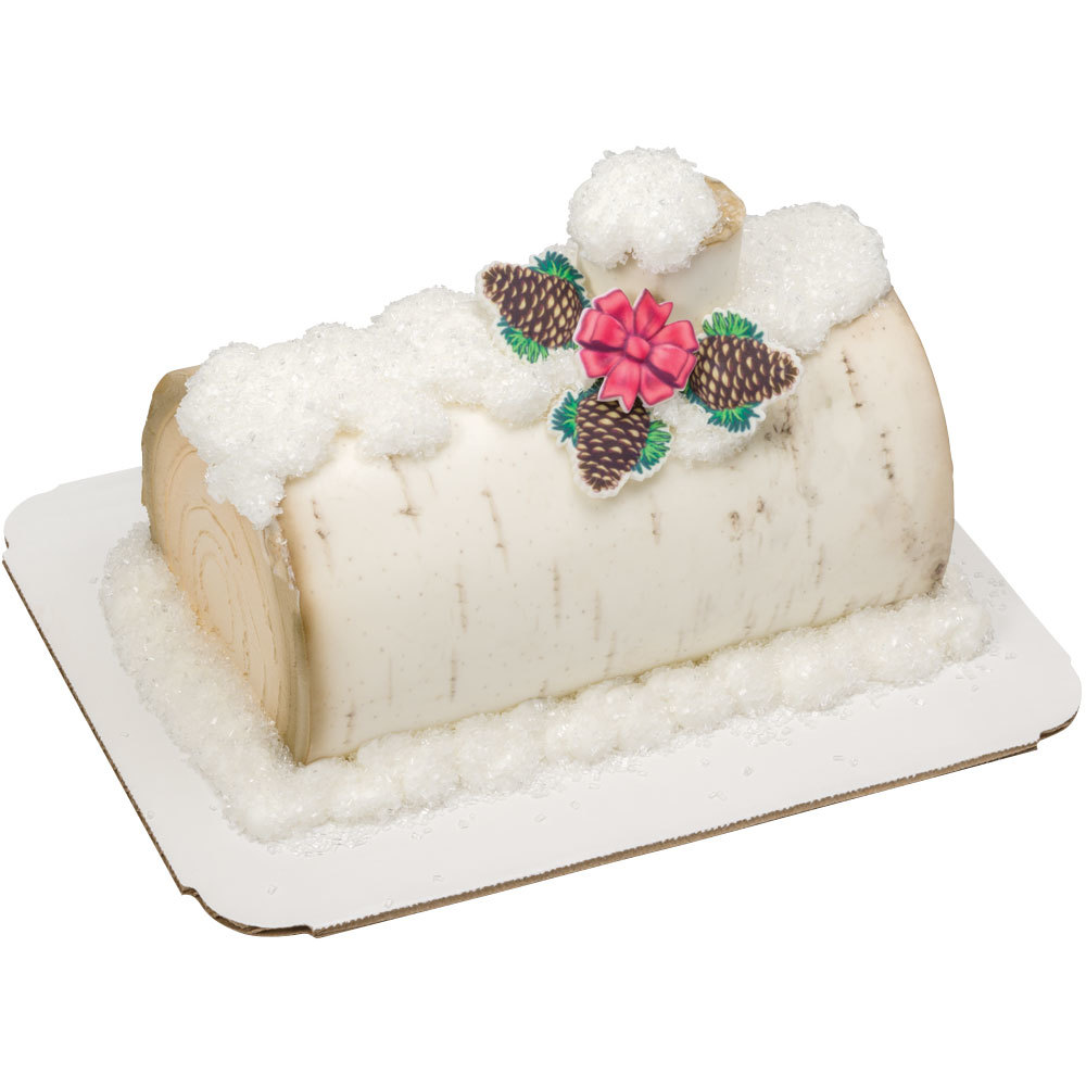 Yule Log Cake Design