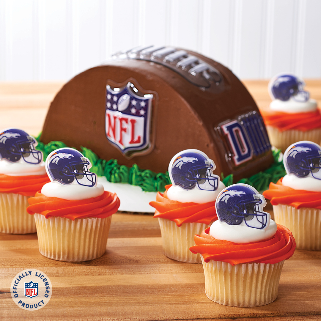 Merchandise Your Bakery With Denver Broncos Decopac