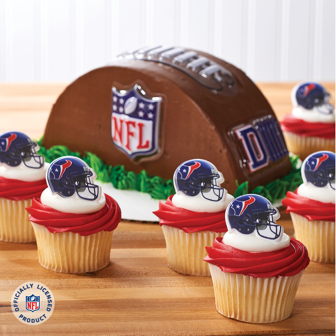 Merchandise Your Bakery With Houston Texans