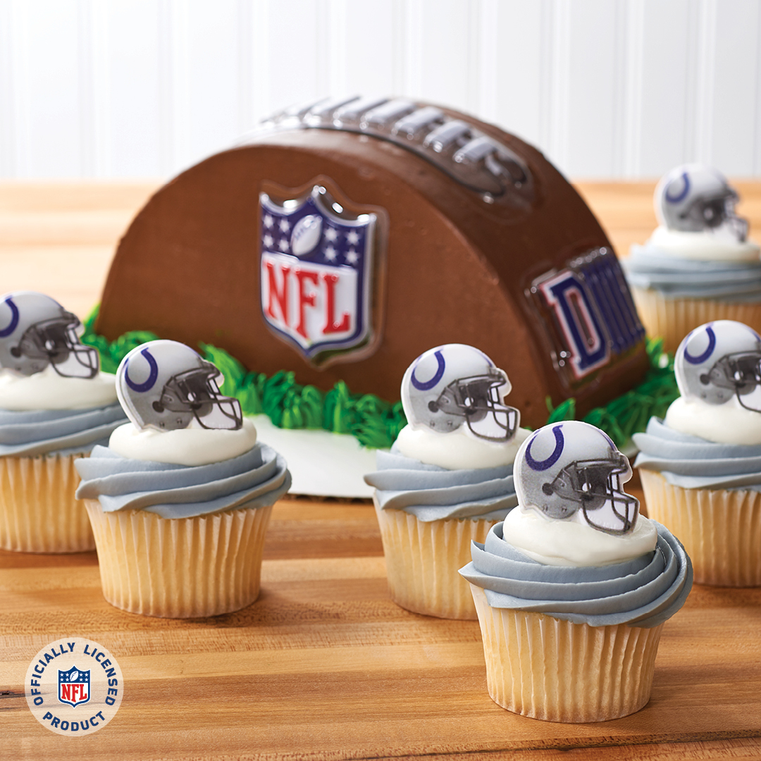 Merchandise Your Bakery with Indianapolis Colts   DecoPac