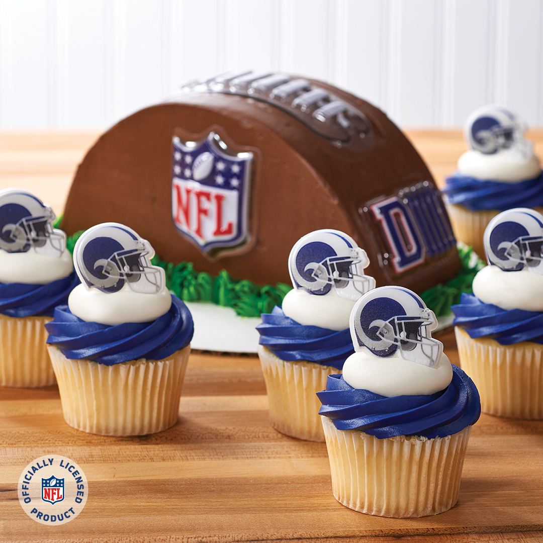 Merchandise Your Bakery With Los Angeles Rams