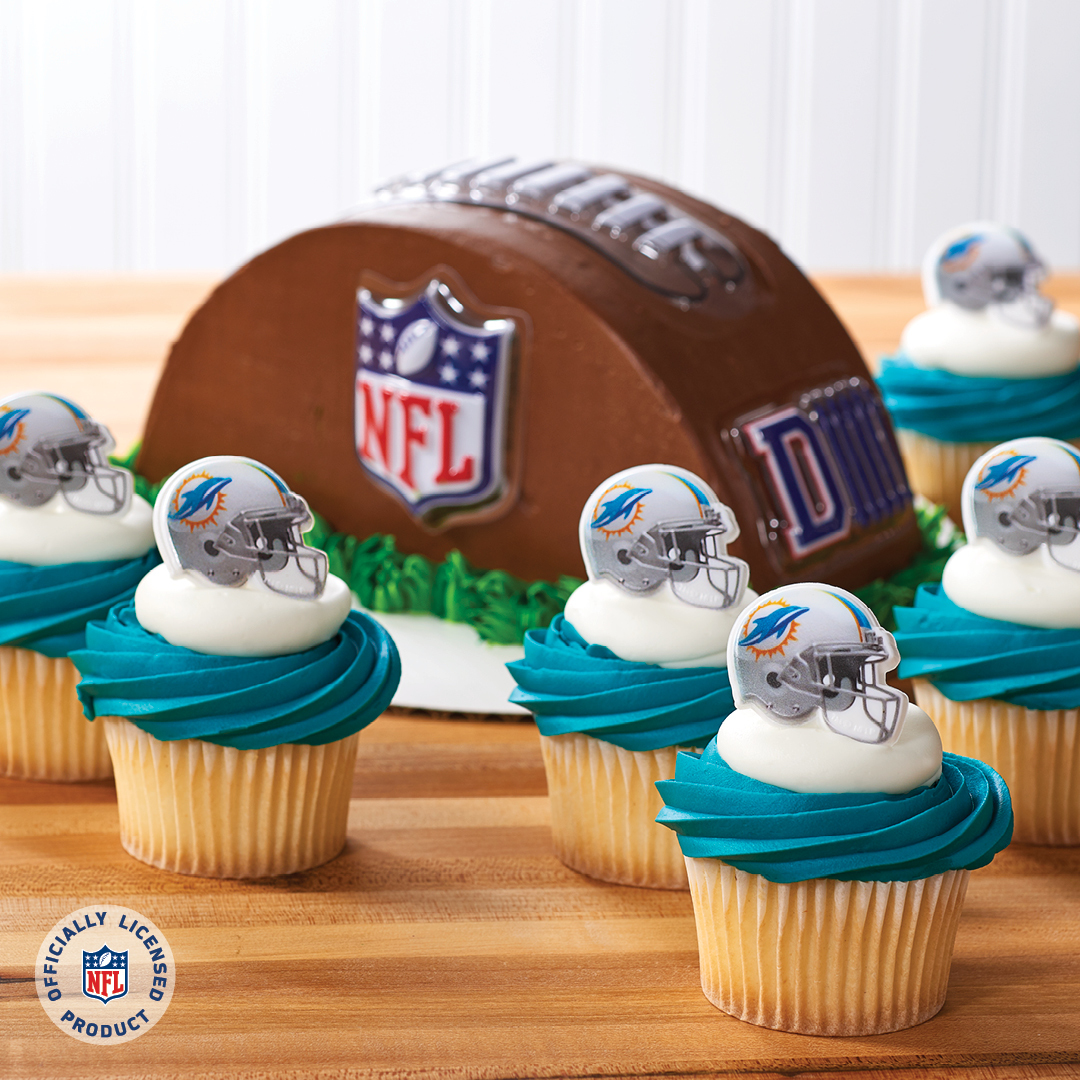 Merchandise Your Bakery With Miami Dolphins Decopac
