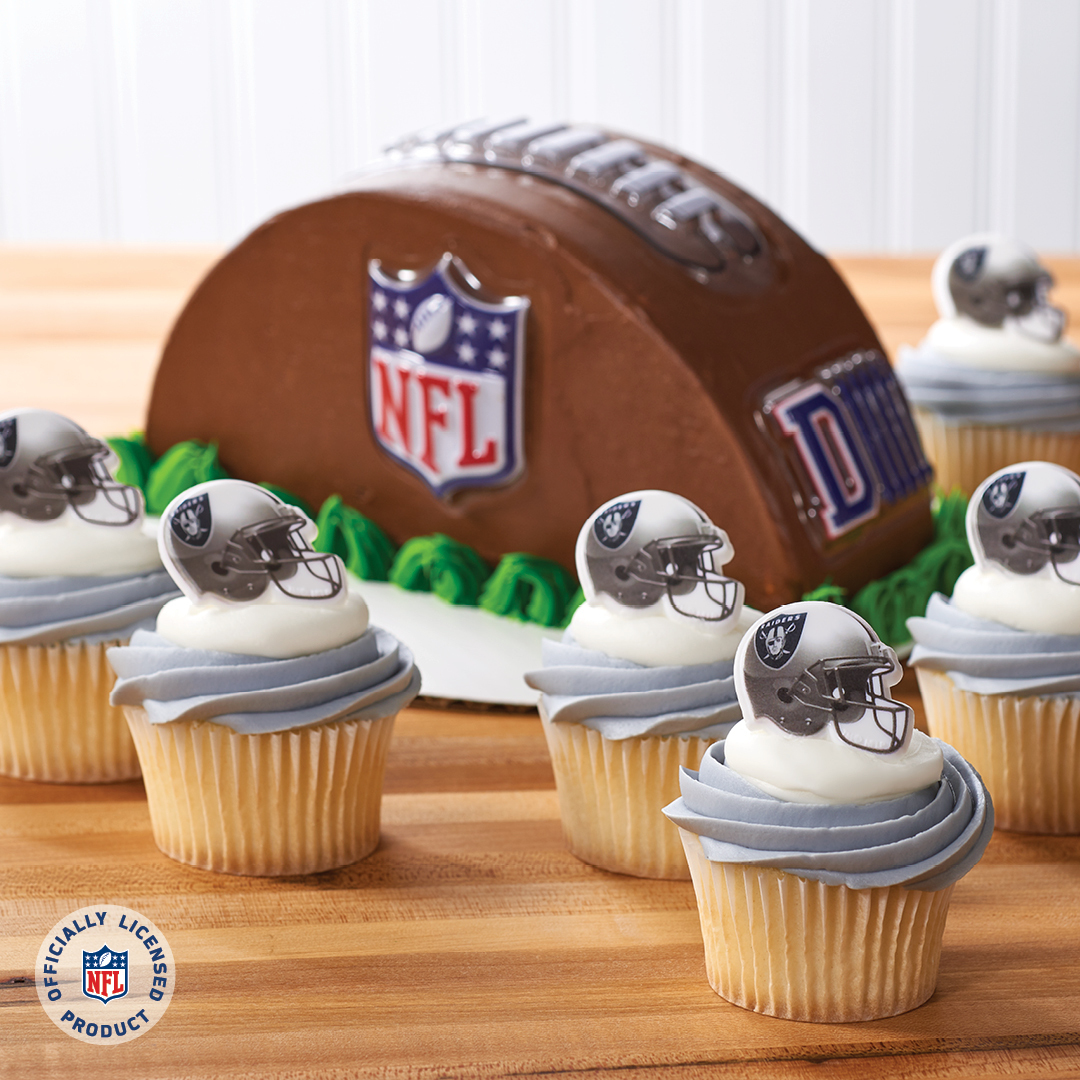 reputable site 26f39 ce0e2 Merchandise Your Bakery with Oakland Raiders | DecoPac