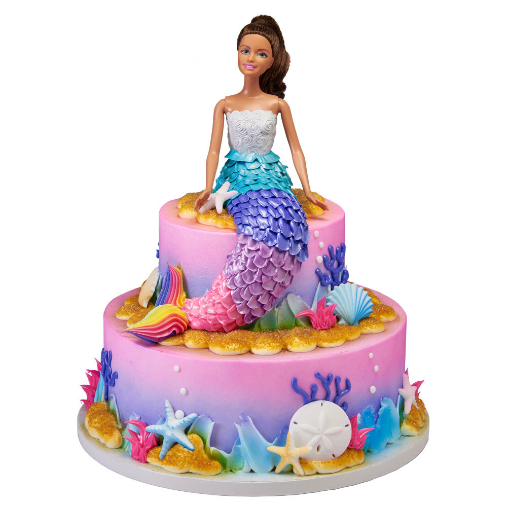 H E B Exclusive Mermaid Cake Designs Decopac