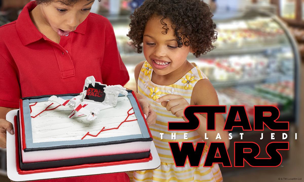 Star Wars Last Jedi Cake Decorations for Kids