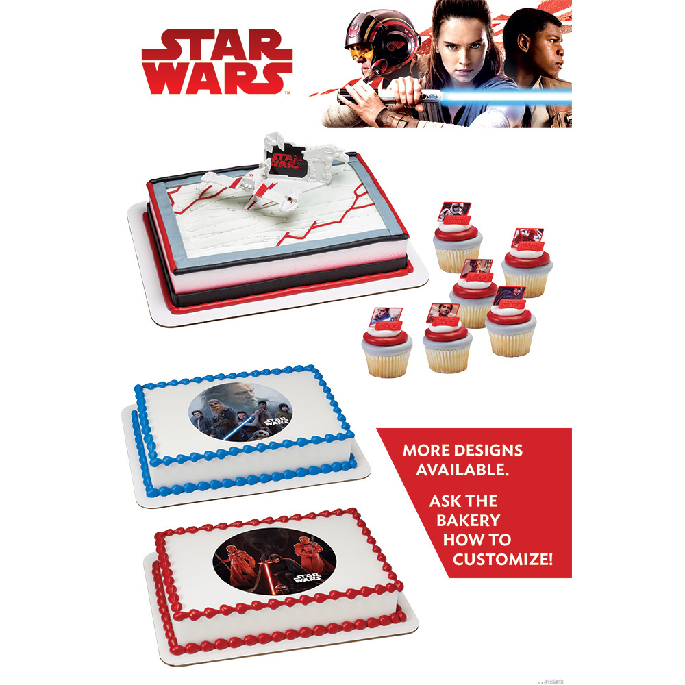 Star Wars Poster 2017 Inspirations For Cake Decorations