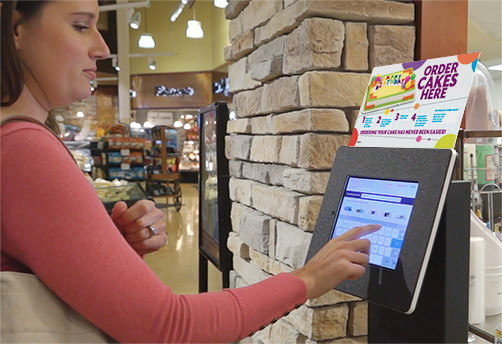 Cake Ordering Kiosk Reduces Wait Time