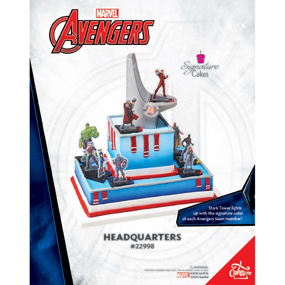 Avengers Headquarters Signature DecoSet® The Magic of Cakes® Page