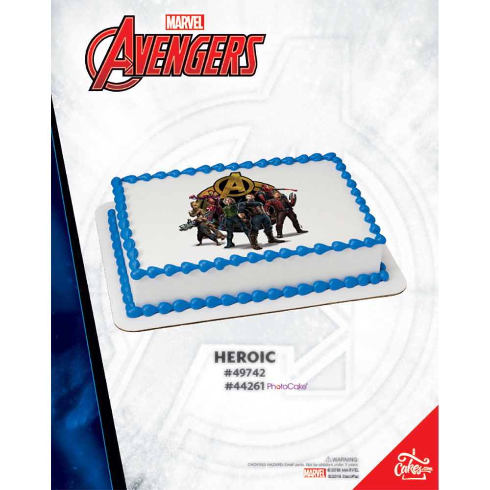 Avengers Infinity War PhotoCake® Image The Magic of Cakes® Page