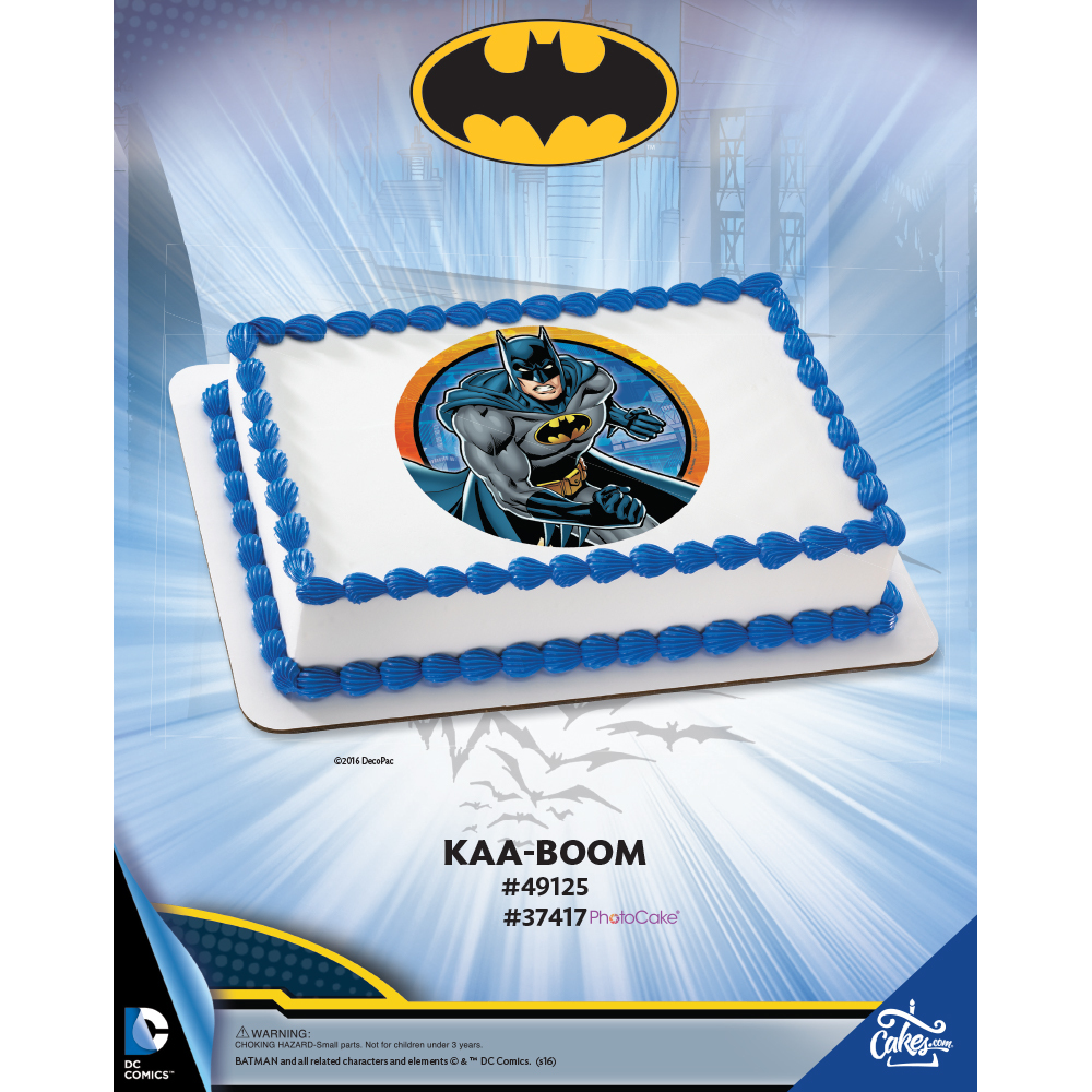 Batman™ Kaa-Boom The Magic of Cakes® Page
