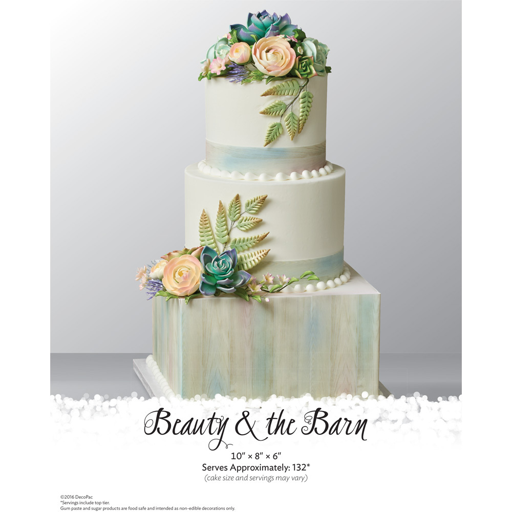 Beauty and the Barn The Magic Of Cakes® Page | DecoPac