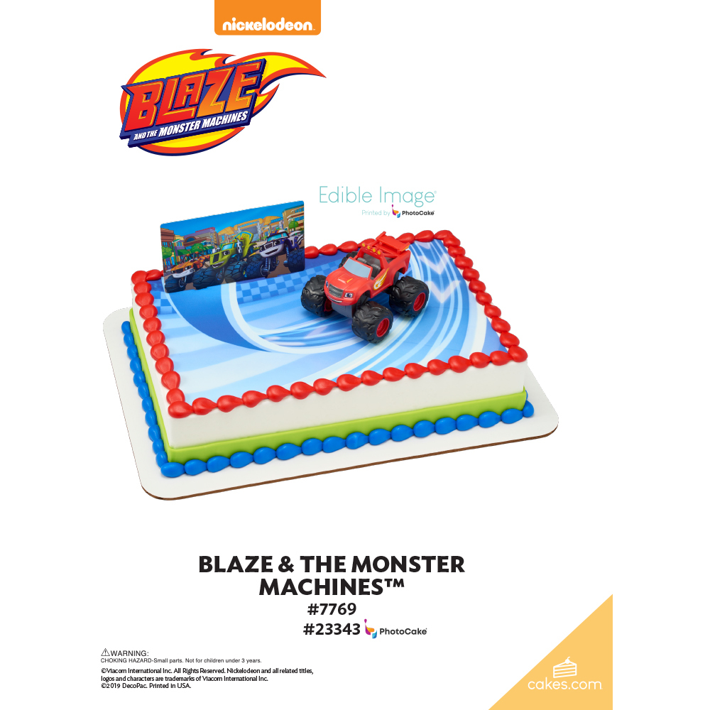 Blaze and the Monster Machines™ The Magic of Cakes® Page