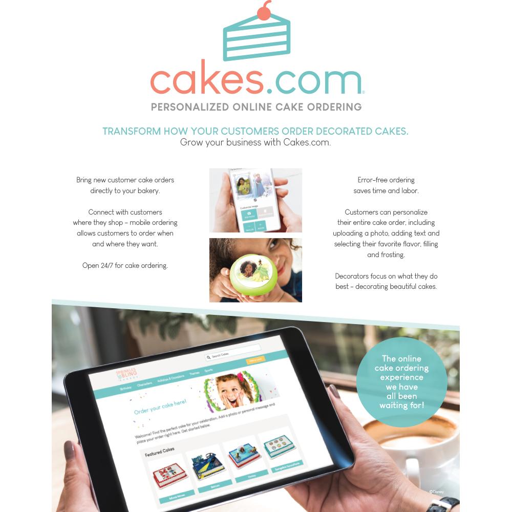 Cakes.com Flyer
