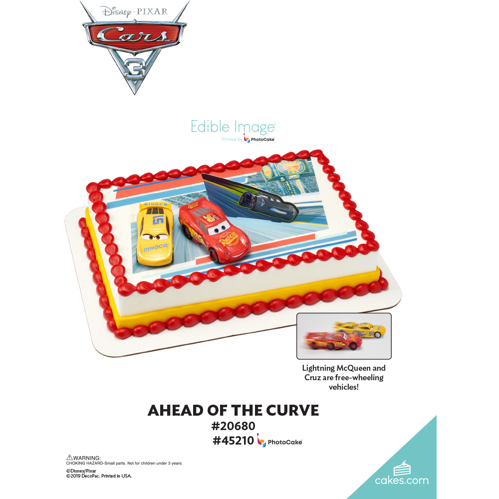 Cars 3 Ahead of the Curve The Magic of Cakes® Page