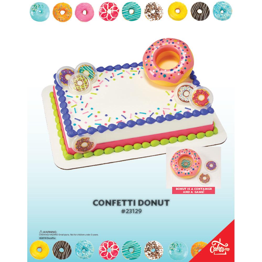 Confetti Donut DecoSet® The Magic of Cakes® Page