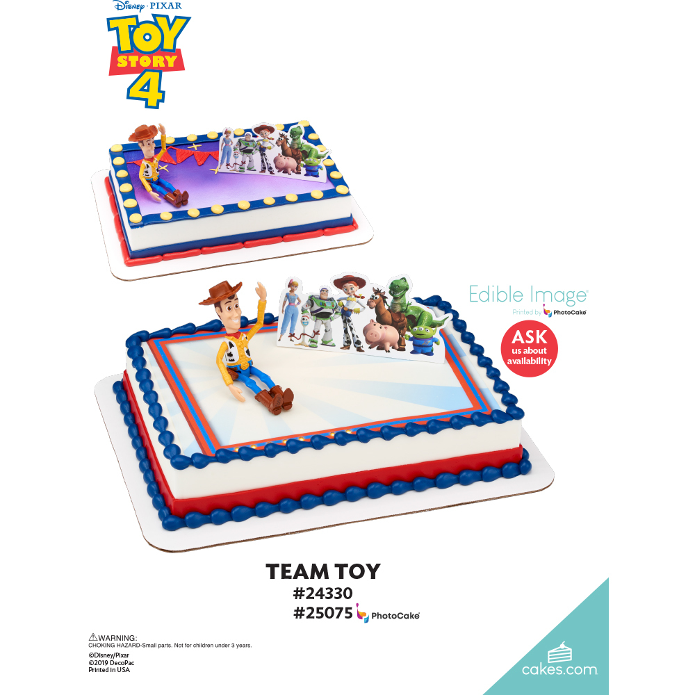 Disney/Pixar Toy Story 4 Team Toy The Magic of Cakes® Page
