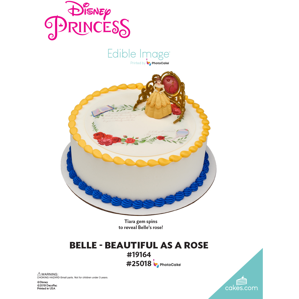 Disney Princess Belle Beautiful as a Rose The Magic of Cakes® Page