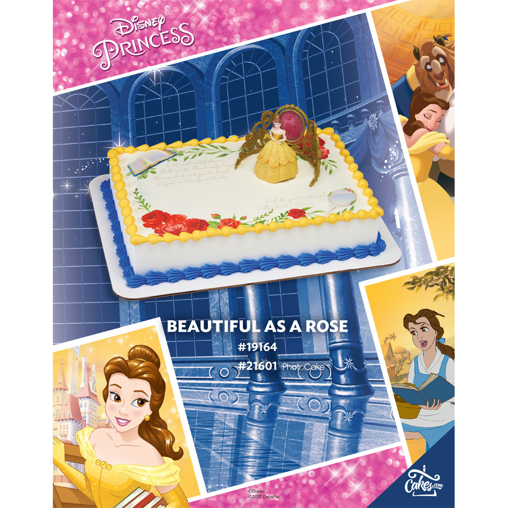 Disney Princess Belle- Beautiful as a Rose The Magic of Cakes® Page
